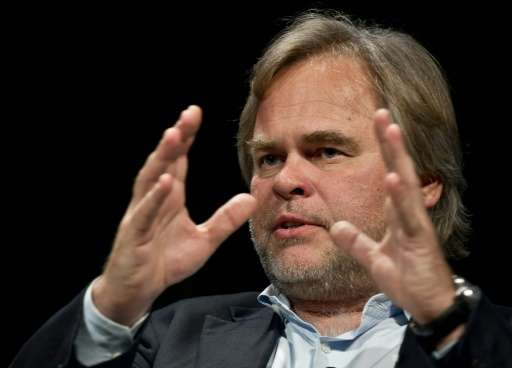 Kaspersky Labs founder Eugene Kaspersky, seen at a 2013 forum in Washington, denies his company has any ties to the Russian gove