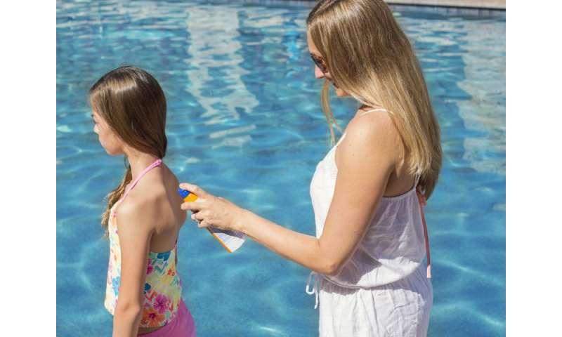 Kids' sun safety means 'Slip, slap, slop'