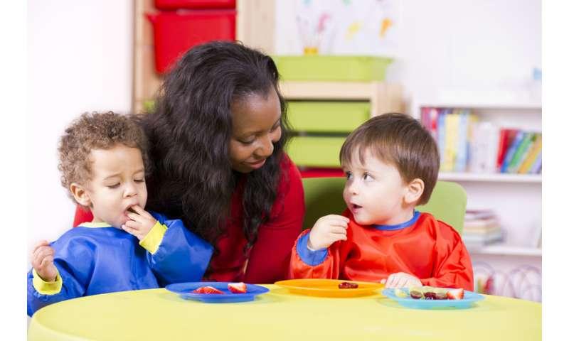 Lack of training contributes to burnout, survey of preschool teachers finds