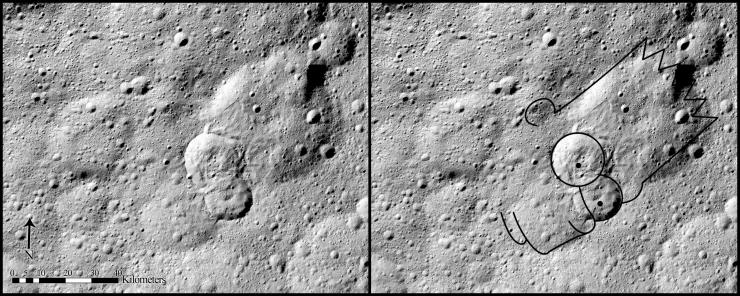 Landslides on Ceres reflect hidden ice
