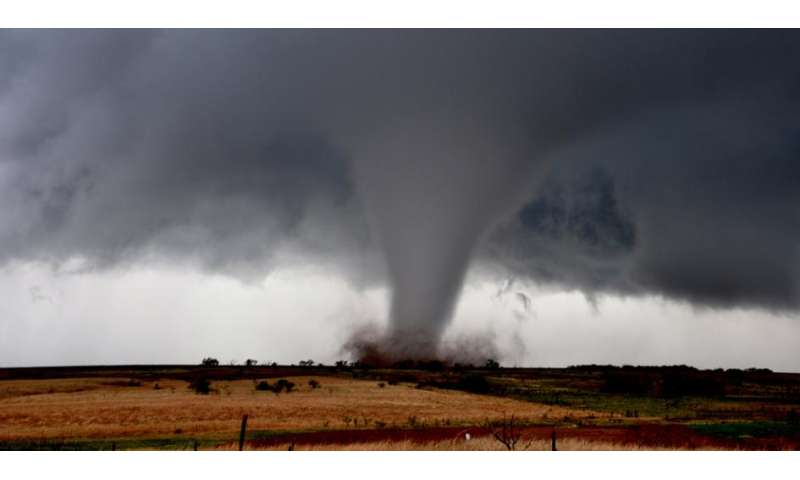 Large-scale tornado outbreaks increasing in frequency, study finds