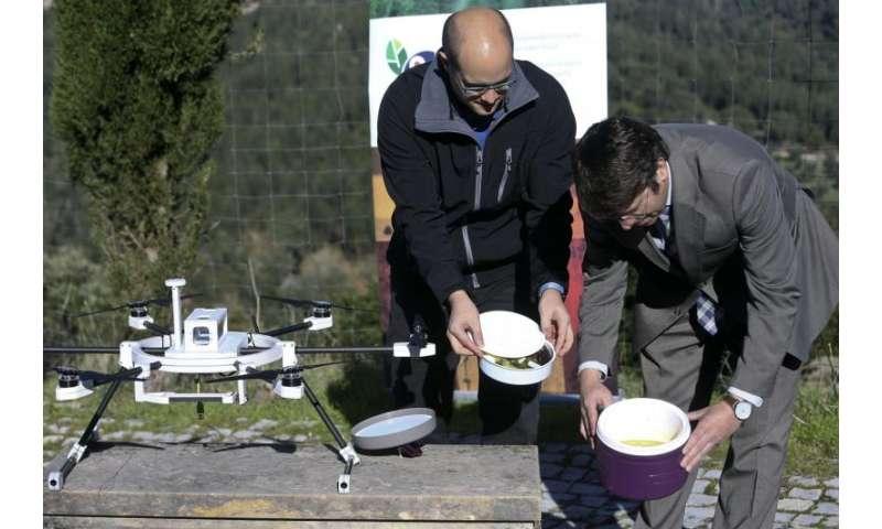Last-mile delivery via drone
