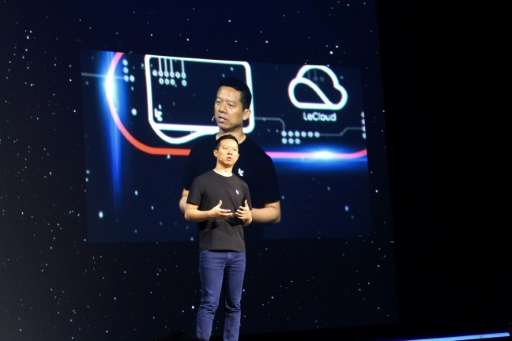 LeEco, whose CEO Yueting Jia is seen at a 2016 press event in San Francisco, has scrapped plans to buy US television maker Vizio