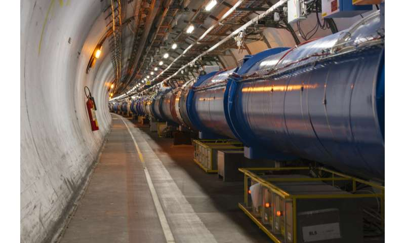 LHC achieves record luminosity
