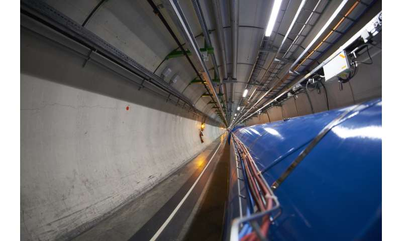 LHC reaches 2017 targets ahead of schedule