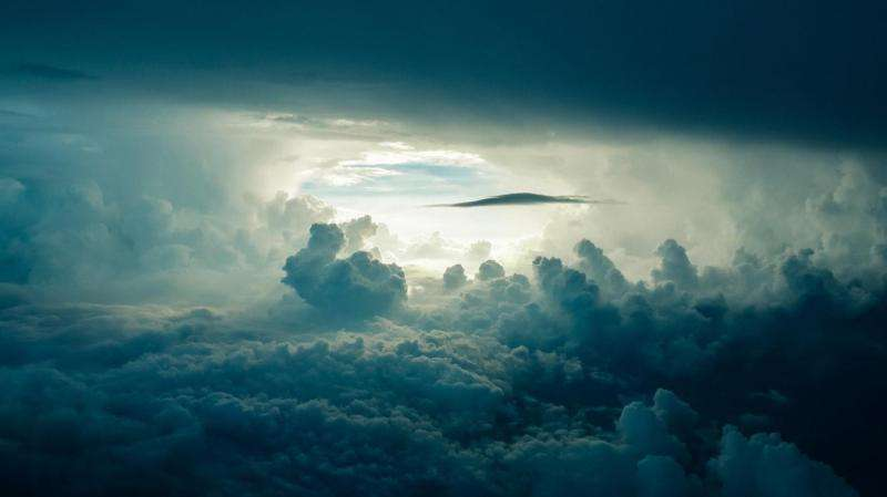 Looking at cloud formation