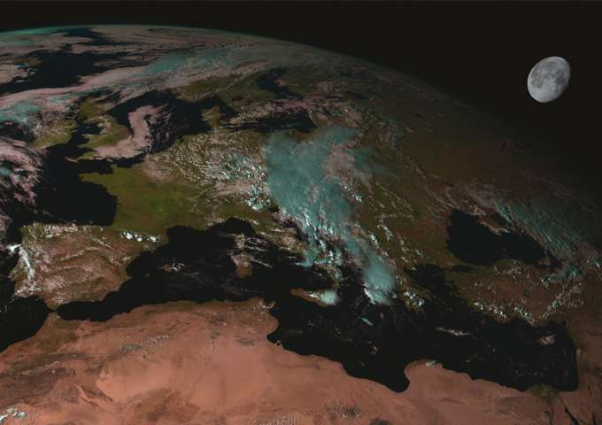 Looking to the moon to better measure climate change on Earth