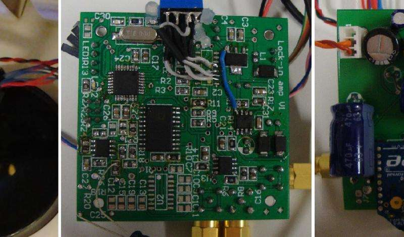 Low-cost monitoring device uses light to quickly detect oil