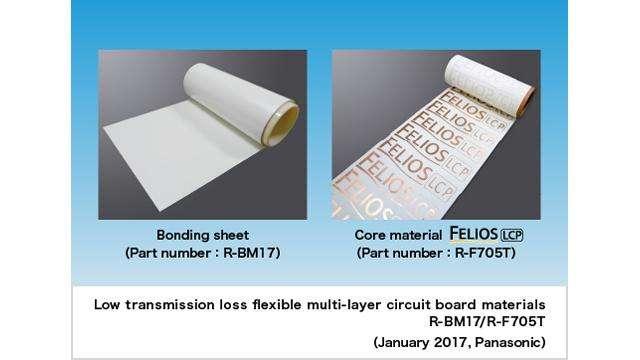 Low transmission loss, flexible, multi-layer circuit board materials