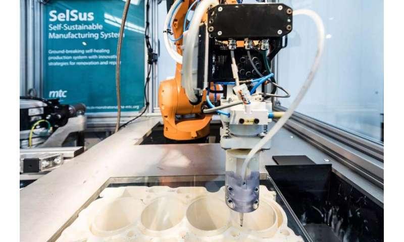 Machinery that repairs itself