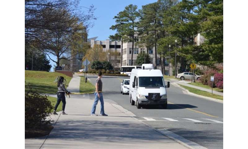 Making driverless cars safe for pedestrians