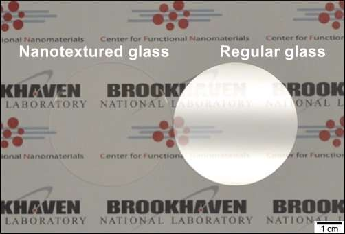Making glass invisible