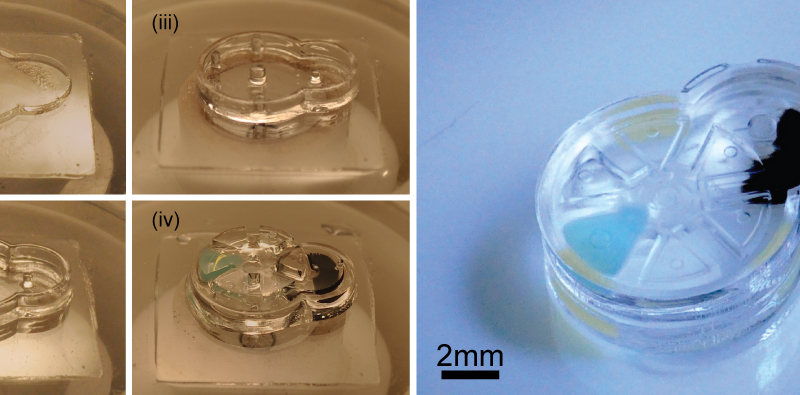 Manufacturing platform makes intricate biocompatible micromachines