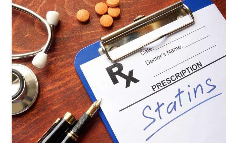 Many hospitalized heart patients not getting protective statin medications upon discharge