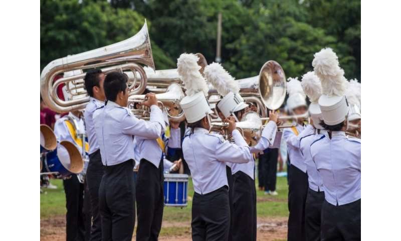 Marching band members can use a physical tuneup
