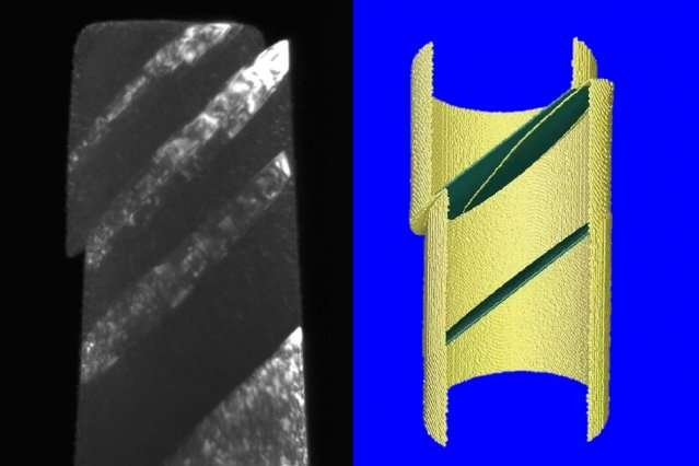 Materials with a special kind of boundary between crystal grains can deform in unexpected ways