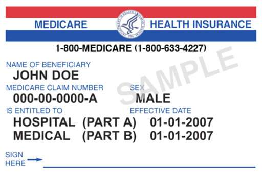 Medicare plans to replace Social Security numbers on cards