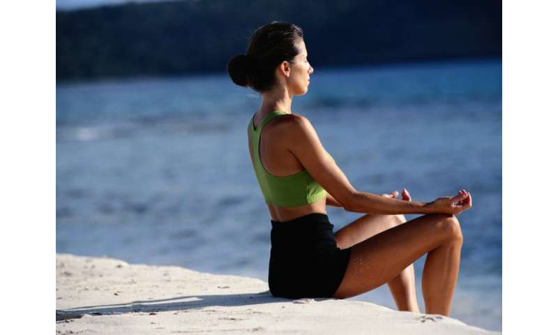 Meditation's soothing effects