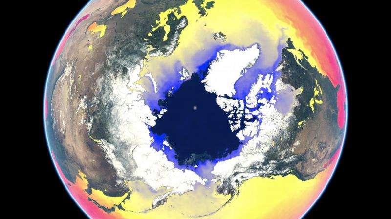 Mesmerising animation of 2016 sea surface temperature