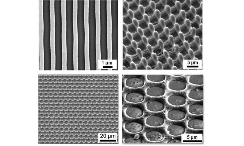 Microscopic structures for vibration-resistant plugs