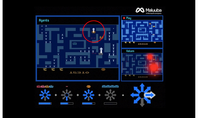 Microsoft AI seriously at play with Ms. Pac-Man