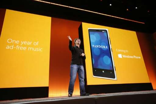 Microsoft Corporate Vice President Joe Belfiore shows off features of Windows Phone 8 in 2012. The tech giant is ending support