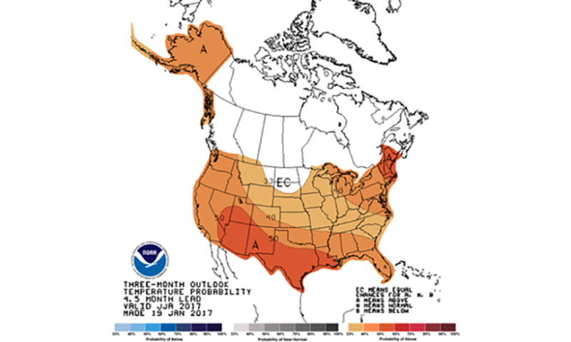 Mild, wet summer in the midwest predicted by Mizzou weather expert