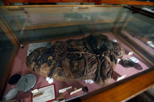 Millennia-old mummies at Sanaa University have begun to decay as electricity shortages make it impossible to maintain their clim
