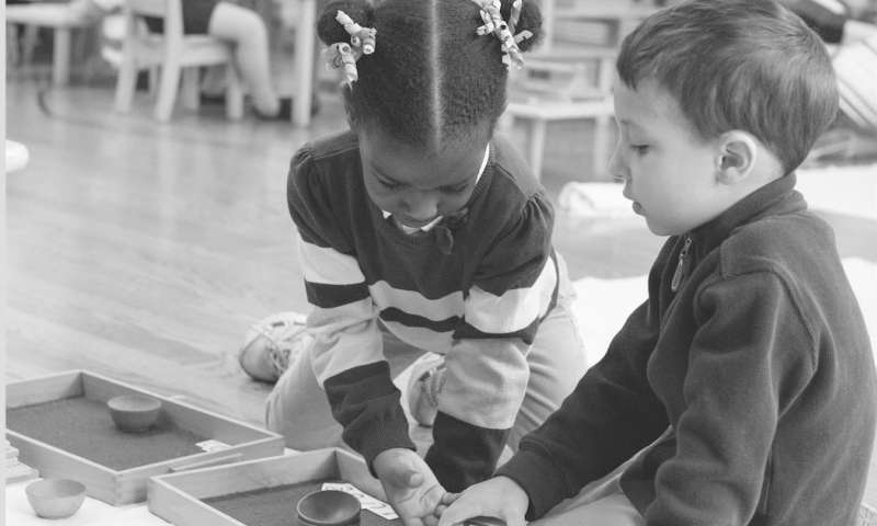 Montessori preschool boosts academic results and reduces income-based inequality