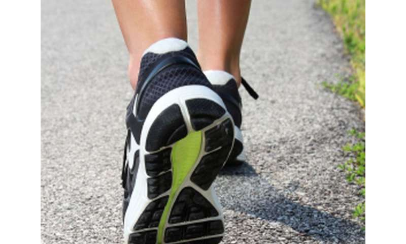 More americans are walking for exercise