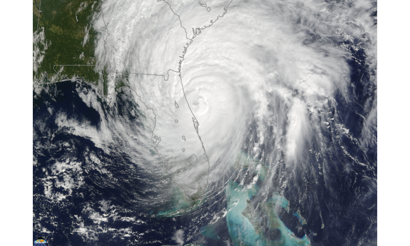 More frequent hurricanes not necessarily stronger on Atlantic coast