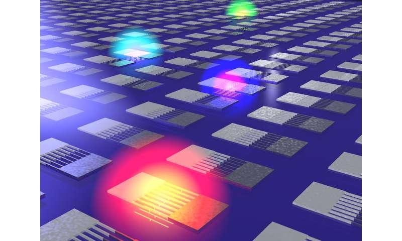 Nanostructures taste the rainbow