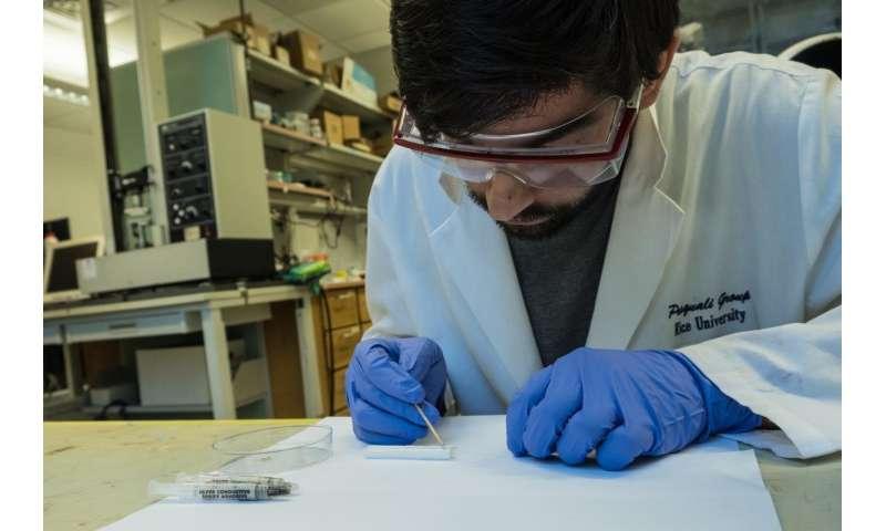 Nanotube fiber antennas as capable as copper