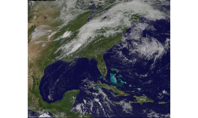 NASA adds up Tropical Storm Cindy's rainfall