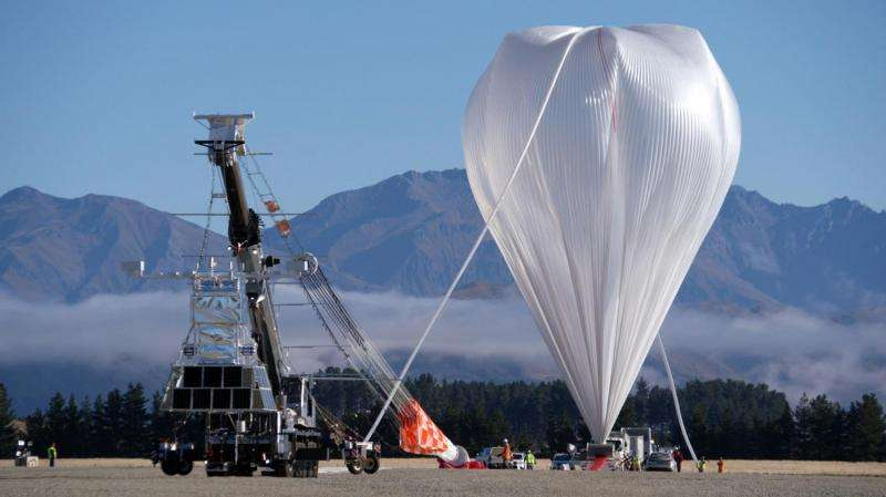 NASA balloon mission launches, with goal of breaking flight record