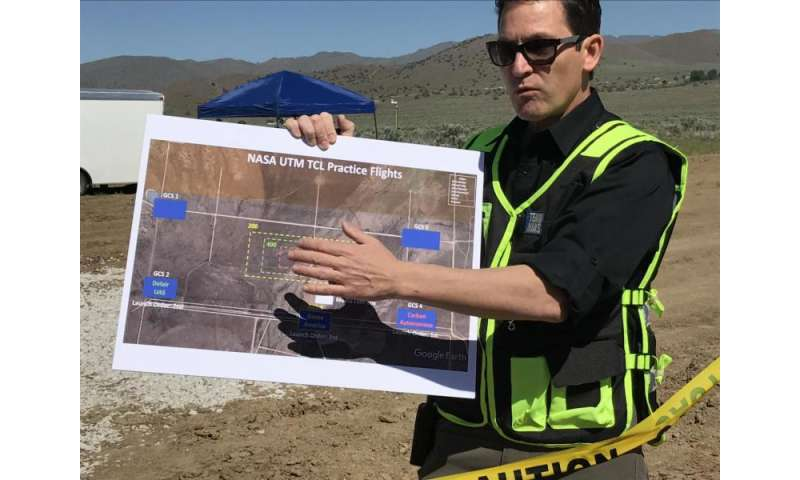 NASA drone traffic management tests take off in Reno