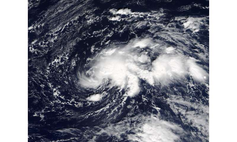 NASA eyes the Development of Tropical Storm Ophelia