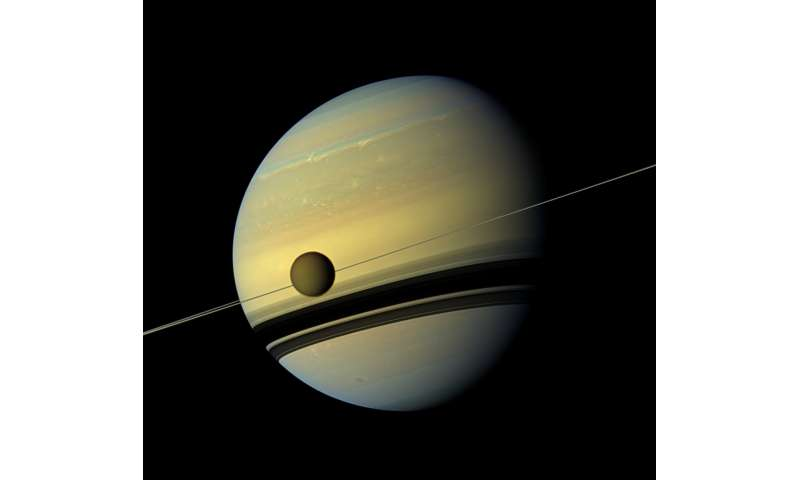 NASA finds moon of Saturn has chemical that could form 'membranes'