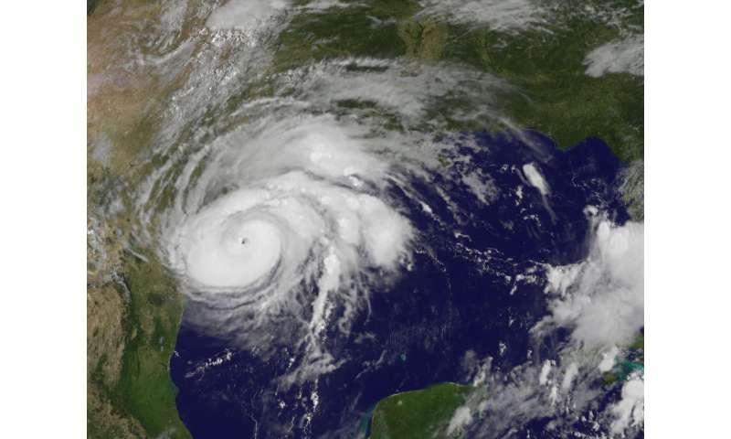 NASA gets an in-depth look at intensifying Hurricane Harvey