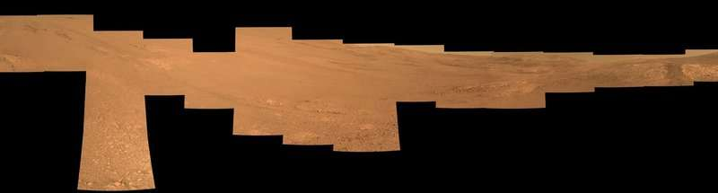 NASA Mars rover team's tilted winter strategy works