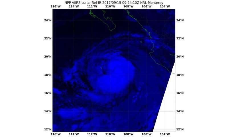 NASA-NOAA's satellite night-time nod to Norma