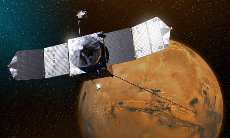 NASA orbiter steers clear of Mars moon Phobos