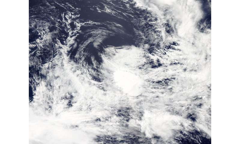 NASA sees another quick Tropical Cyclone demise in South Pacific