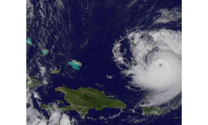 NASA sees Hurricane Jose move past the Leeward Islands