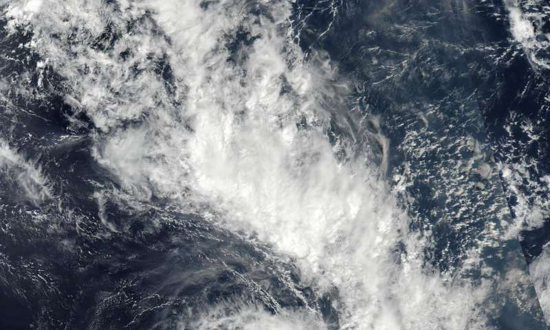NASA sees new Tropical Cyclone Cook moving past New Caledonia