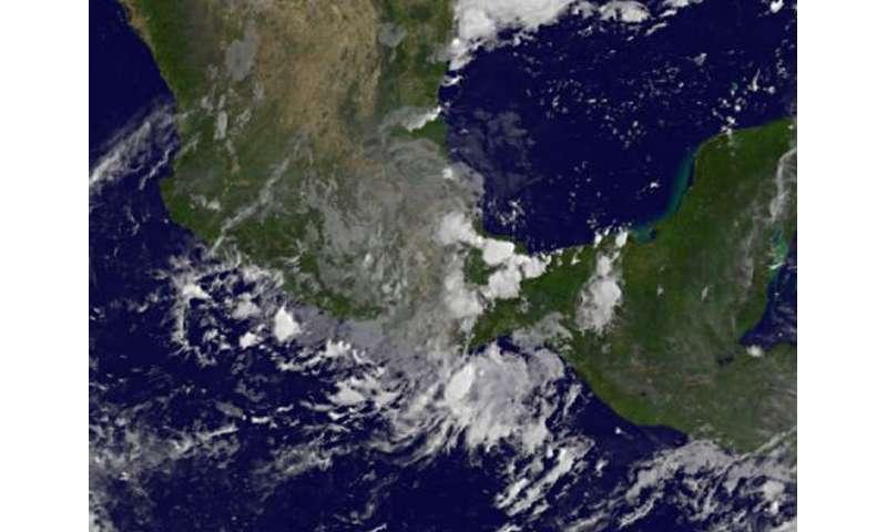 NASA sees remnants of Katia dissipating after Mexico landfall