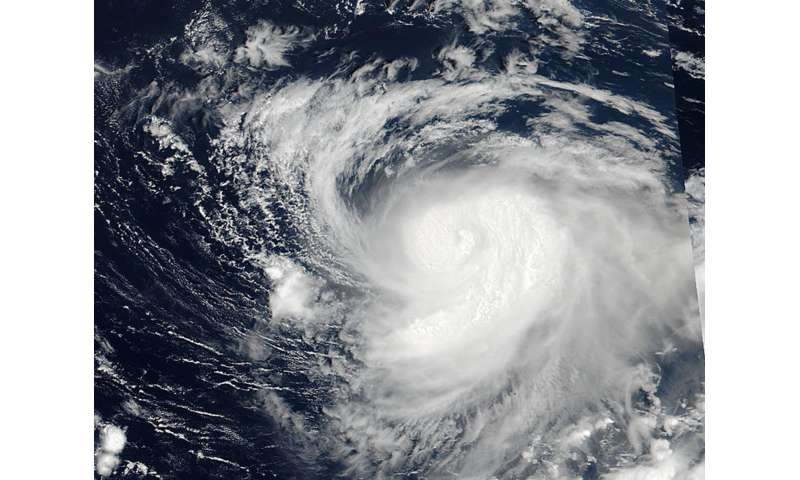 NASA sees Typhoon Noru raging near the Minami Tori Shima Atoll
