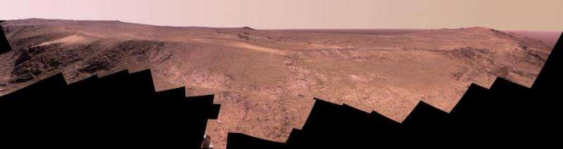 NASA's mars rover Opportunity leaves 'Tribulation'