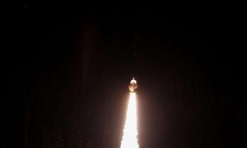 NASA Sounding Rocket Successfully Launches into Alaskan Night