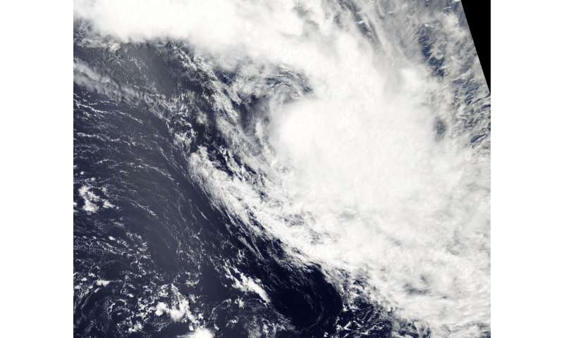 NASA spies Tropical Cyclone Bart's end